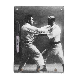 Japanese Judoka Jigoro Kano Kyuzo Mifue Judo Dry-Erase Board