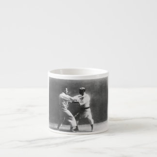 Japanese Judoka Jigoro Kano Kyuzo Mifue Judo Espresso Cup
