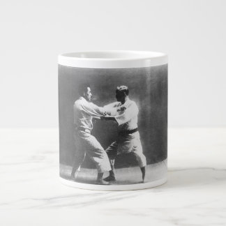 Japanese Judoka Jigoro Kano Kyuzo Mifue Judo Large Coffee Mug