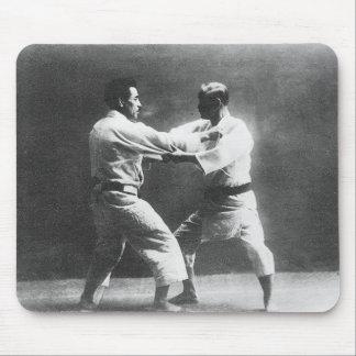 Japanese Judoka Jigoro Kano Kyuzo Mifue Judo Mouse Pad