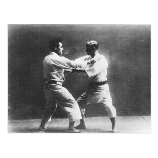Japanese Judoka Jigoro Kano Kyuzo Mifue Judo Postcard