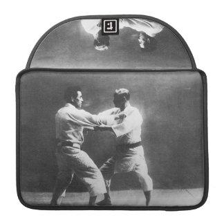 Japanese Judoka Jigoro Kano Kyuzo Mifue Judo Sleeves For MacBook Pro