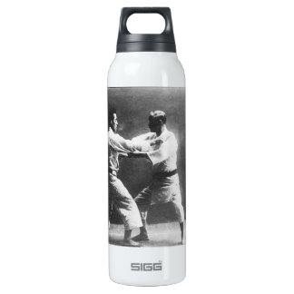 Japanese Judoka Jigoro Kano Kyuzo Mifue Judo Thermos Bottle