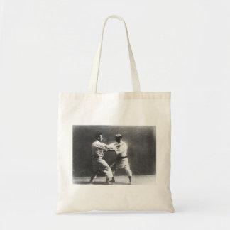 Japanese Judoka Jigoro Kano Kyuzo Mifue Judo Tote Bag