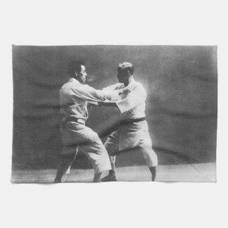 Japanese Judoka Jigoro Kano Kyuzo Mifue Judo Towel