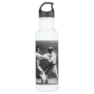 Japanese Judoka Jigoro Kano Kyuzo Mifue Judo Water Bottle