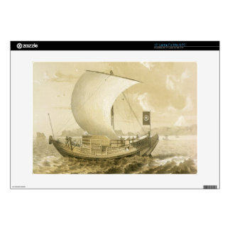 Japanese Junk, pub. by Sarony & Co., c.1856 (litho Skin For Laptop