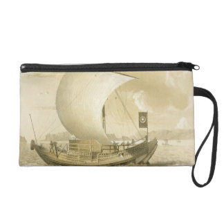Japanese Junk, pub. by Sarony & Co., c.1856 (litho Wristlet Purse