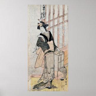 Japanese Kabuki Theater poster/print Poster