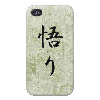 Japanese Kanji for Enlightenment - Satori Case For iPhone 4