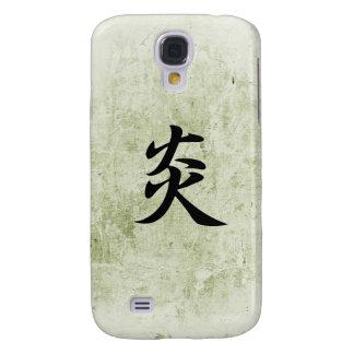 Japanese Kanji for Flame - Honoo Samsung Galaxy S4 Case