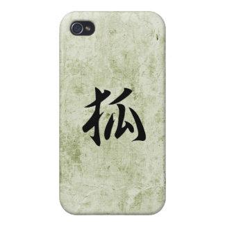 Japanese Kanji for Fox - Kitsune Case For iPhone 4