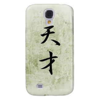 Japanese Kanji for Genius - Tensai Galaxy S4 Covers