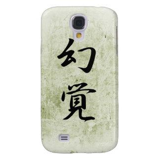 Japanese Kanji for Hallucination - Genkaku Samsung Galaxy S4 Cover