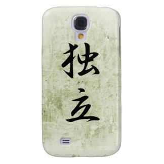 Japanese Kanji for Independence - Dokuritsu Samsung Galaxy S4 Case