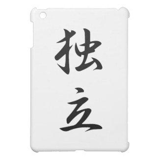 Japanese Kanji for Independence - Dokuritsu iPad Mini Case