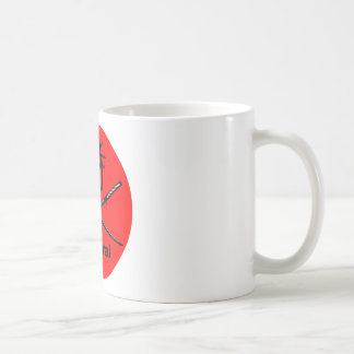 Japanese Katana and Samurai Kanji Coffee Mug