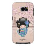 Japanese Keiko Kokeshi Doll Samsung Galaxy S6 Cases