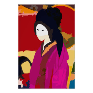 Japanese Keisha Poster