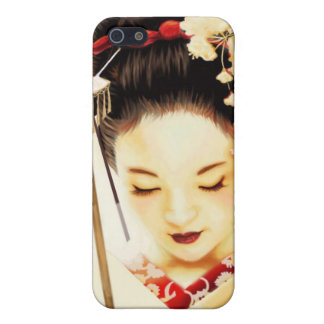 Japanese Kimono Geisha 8 Asian iPhone SE/5/5s Cover