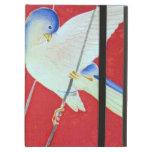 Japanese KIMONO Textile, Bluebird iPad Cover