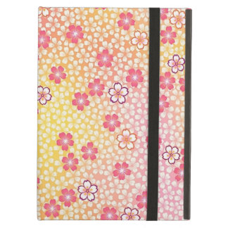 Japanese KIMONO Textile, Cherry Blossoms Pattern iPad Case