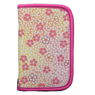 Japanese KIMONO Textile Cherry Blossoms Pattern Planners