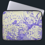 "Japanese KIMONO Textile, Chrysanthemum Laptop Sleeve<br><div class=""desc"">This is a textile design of a Japanese Kimono.</div>"