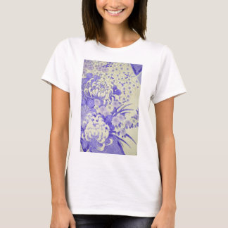 Japanese KIMONO Textile, Chrysanthemum T-Shirt