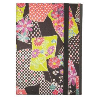 Japanese KIMONO Textile, Floral Pattern iPad Air Covers