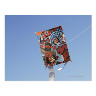 Japanese kite postcard