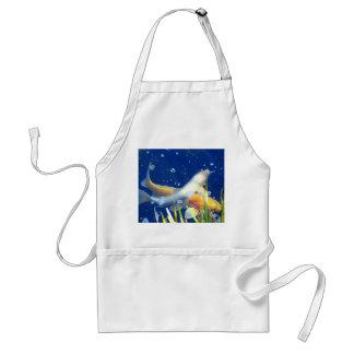 japanese koi apron standard apron