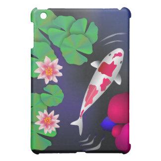 Japanese Koi Fish,Lotus Flowers & Water-lilies iPa iPad Mini Cases