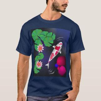 Japanese Koi Fish,Lotus Flowers & Water-lilies T-s T-Shirt