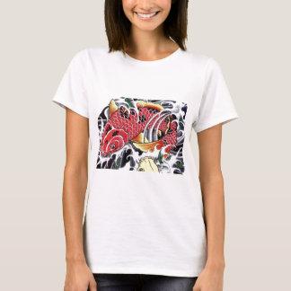Japanese Koi Fish Tattoo T-Shirt