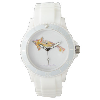 Japanese Koi in Watercolor Watches