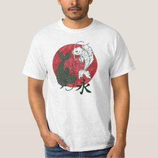 Japanese Koi Karp Yin and Yang design T-Shirt
