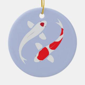Japanese Koi Personalized Christmas Ornament
