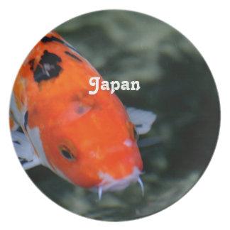 Japanese Koi Party Plates