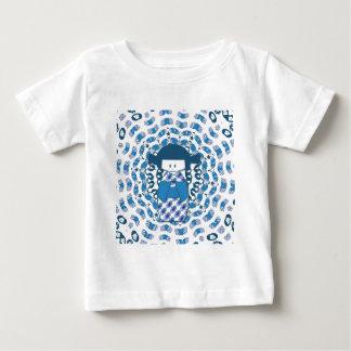 Japanese Kokeshi doll, blue Baby T-Shirt