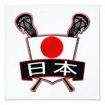 Japanese Lacrosse Logo Announcements