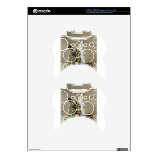 Japanese Lady Geisha Asian Vintage Art Xbox 360 Controller Decal