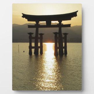 Japanese Lake Solitude Photo Plaque