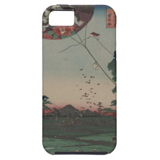 Japanese Landscape with Kites iPhone SE/5/5s Case