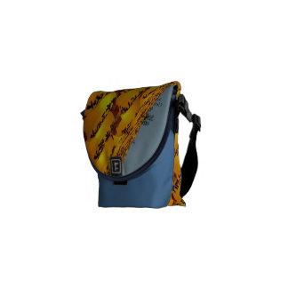 Japanese Lantern Festival Messenger bag