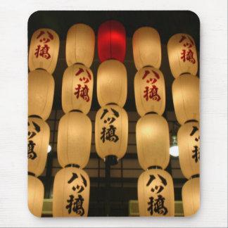 japanese lanterns mouse pad