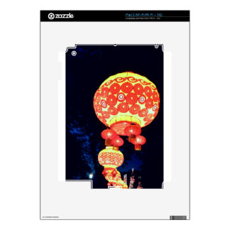 Japanese Lanterns Skin For iPad 2