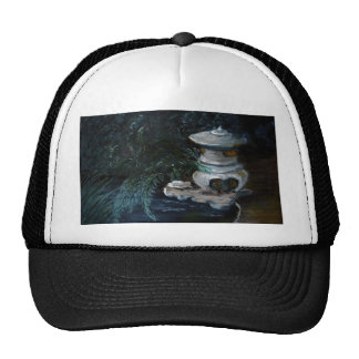 Japanese latern trucker hat