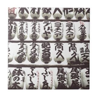 Japanese Laterns Ceramic Tile
