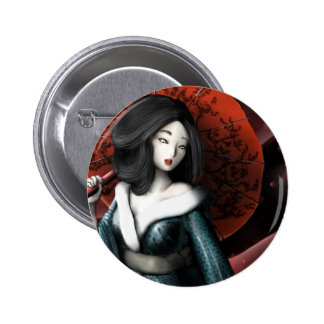 Japanese legend Taketori Monogatari Pinback Button